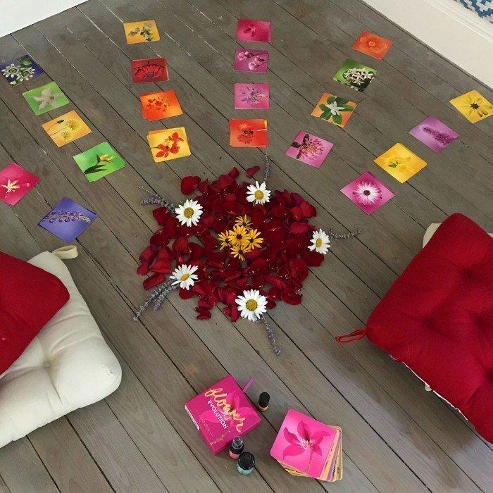 Flower Alchemy Classes By KarenBetten.com Inspired by Katie Hess of Lotus Wei